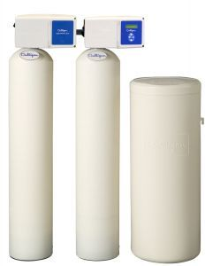 Twin Softener with Carbon Filter