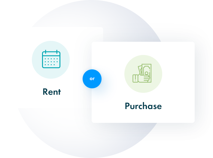Rent or Buy graphic